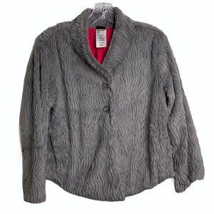 Patagonia faux fur cropped Jacket medium